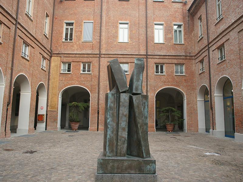 Giò Pomodoro - Palazzo del Governatore - Palatium Vetus - Fondazione CRA - Alessandria