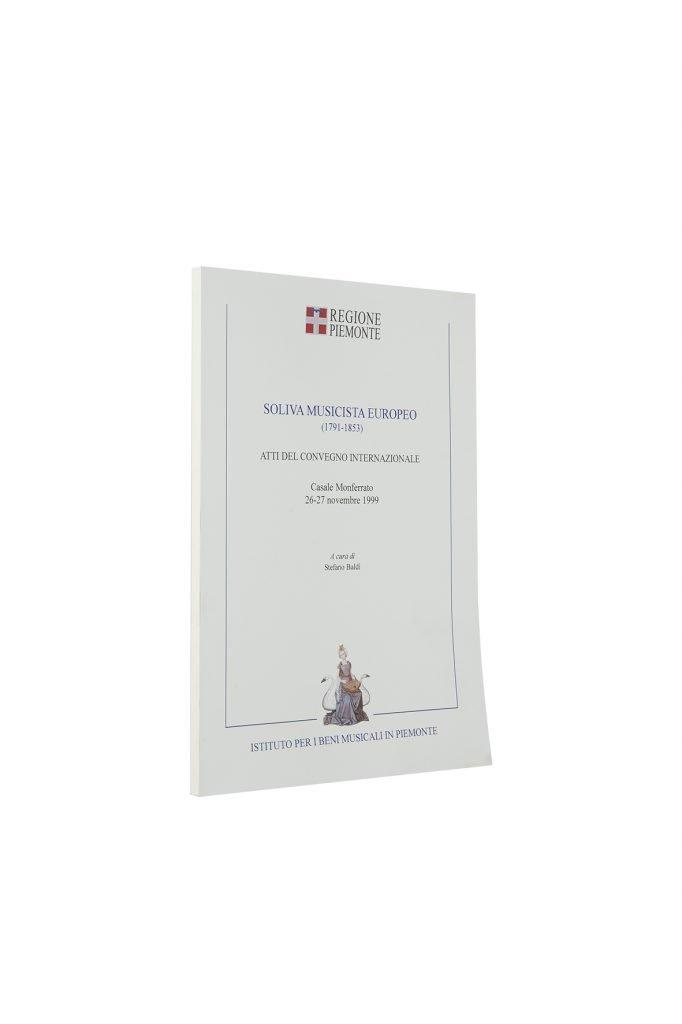 Libro Soliva Musicista Europeo - Bookshop - Palazzo del Governatore - Palatium Vetus - Fondazione CRA Alessandria