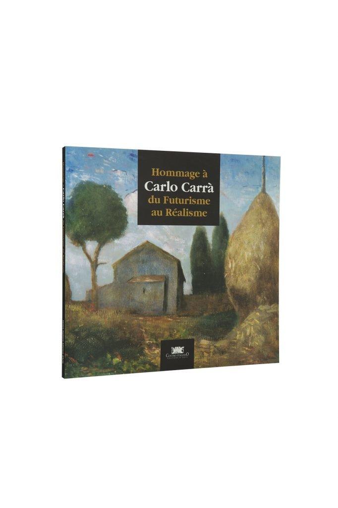 Libro Carlo Carrà - Bookshop - Palazzo del Governatore - Palatium Vetus - Fondazione CRA Alessandria