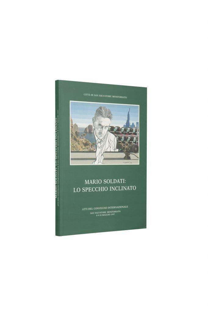 Libro Lo specchio inclinato - Bookshop - Palazzo del Governatore - Palatium Vetus - Fondazione CRA Alessandria