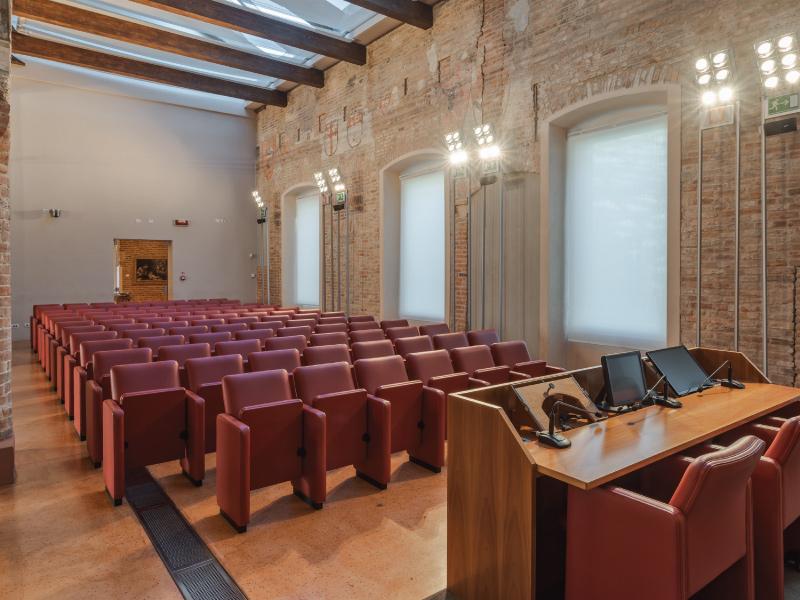 Sala Conferenze Palazzo del Governatore - Palatium Vetus - Fondazione CRA - Alessandria